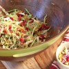 Light Asian Broccoli Slaw & Quinoa Salad